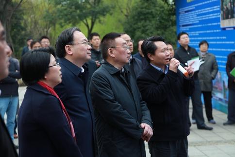 水利部部长陈雷来无锡检查防汛和河长制工作